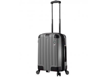 Kabinové zavazadlo MIA TORO M1300/3-S - charcoal  + LED svítilna