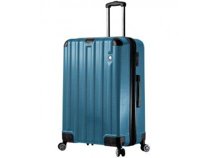 Cestovní kufr MIA TORO M1300/3-L - modrá  + LED svítilna