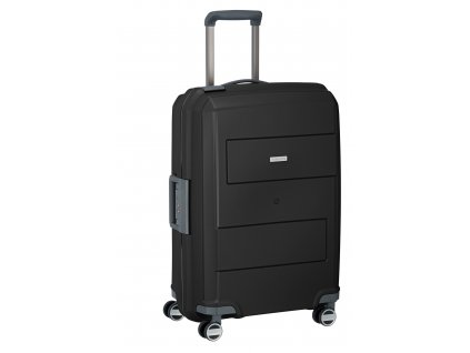 Travelite Makro 4w M Black  + LED svítilna