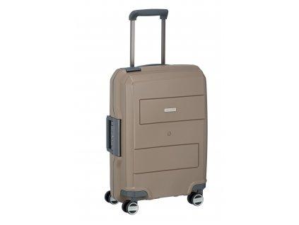 Travelite Makro 4w S Taupe  + Sluchátka, myš nebo pouzdro