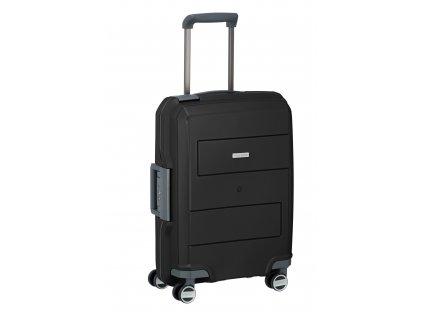 Travelite Makro 4w S Black  + LED svítilna