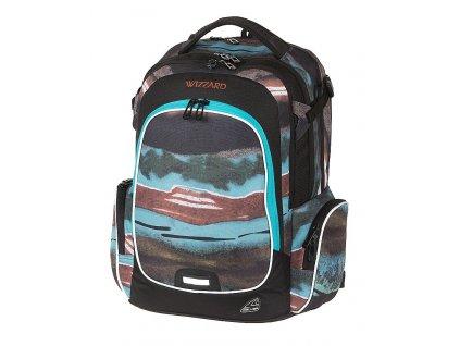 Studentský batoh WIZZARD Pile  + Sluchátka, myš nebo pouzdro
