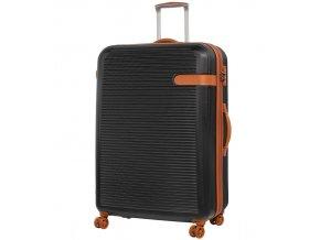 Cestovní kufr ROCK TR-0159/3-XL ABS - černá   + Sluchátka, myš nebo pouzdro