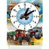Školní hodiny Bigfoot - Traktor