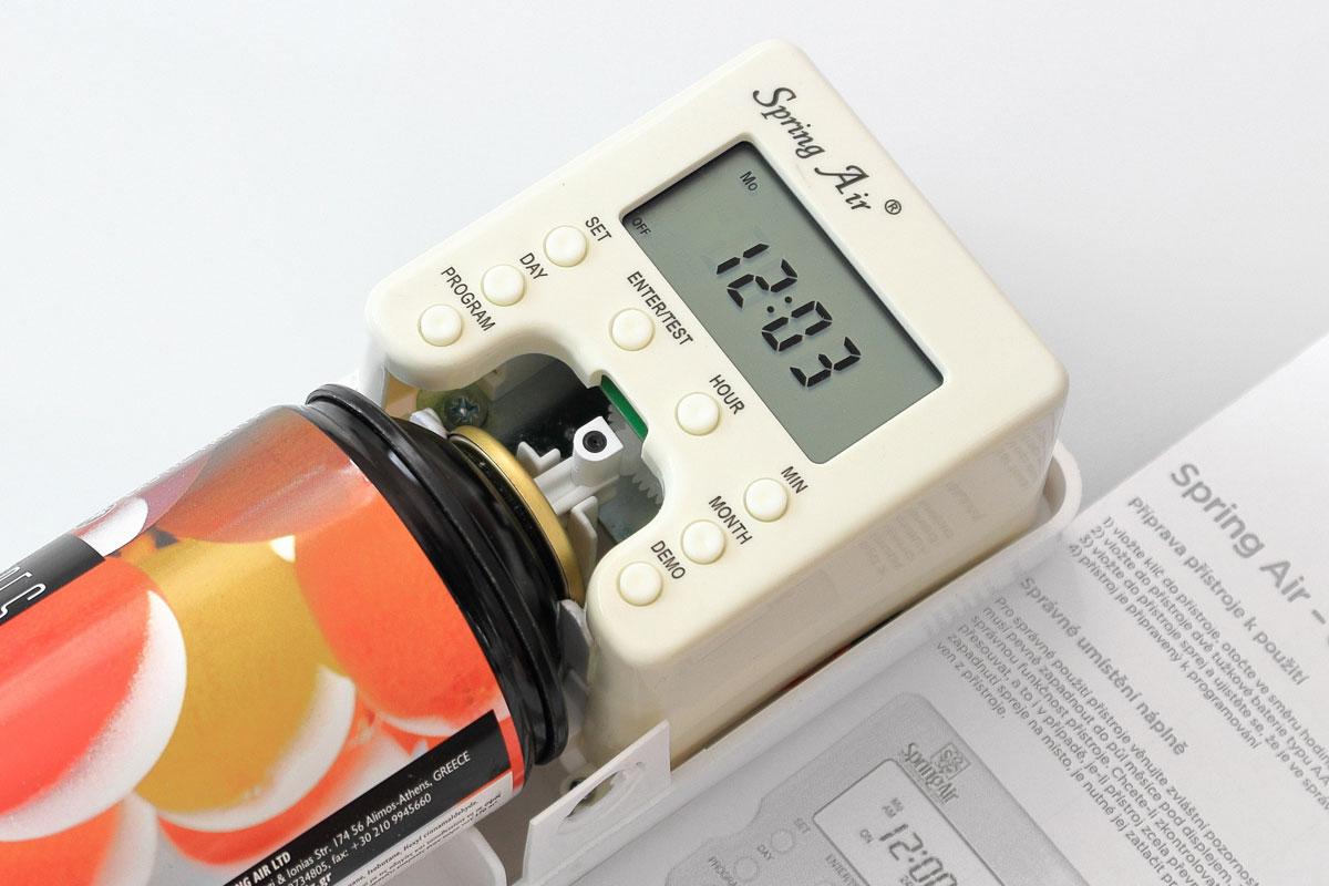 Video návod nastavení elektrického difuzéru Spring Air – Smart Air Mini