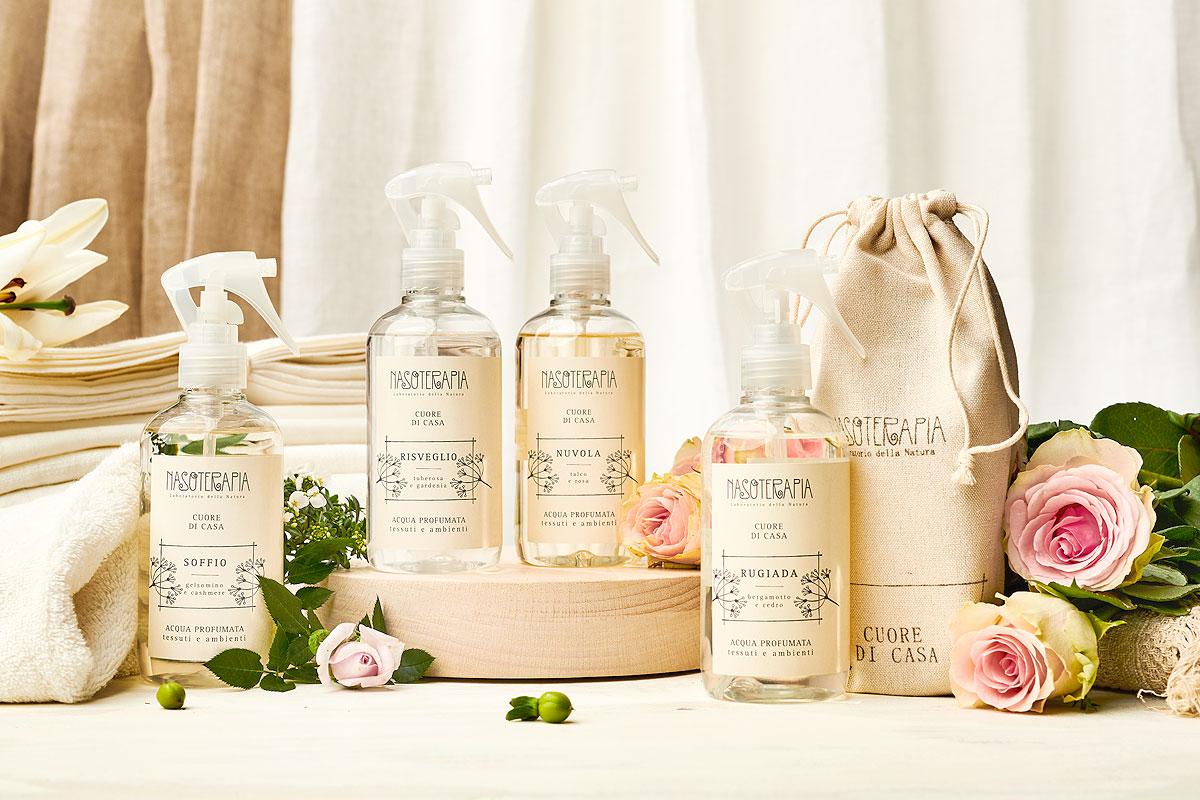 Představujeme parfémované vody na textil Nasoterapia