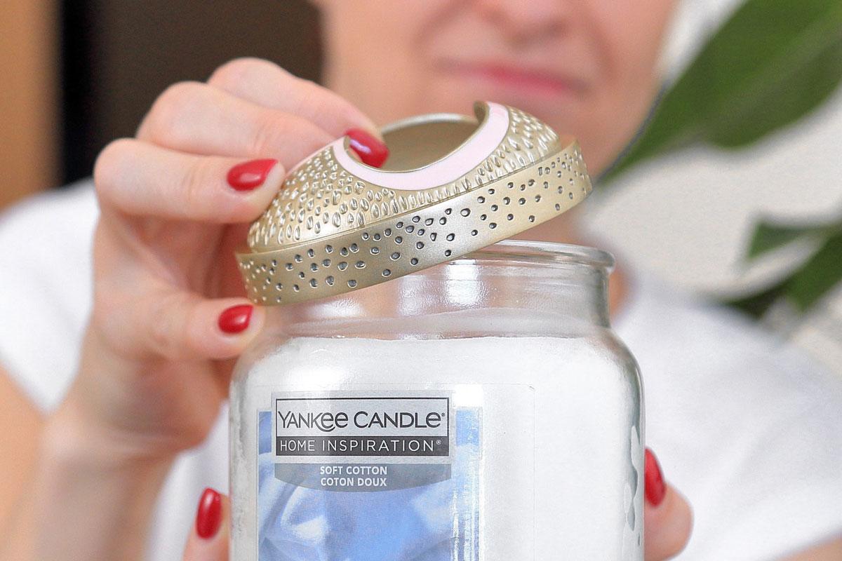 Proč prstenec Illuma Lid nesedí na svíčky Yankee Candle z řady Home Inspiration?