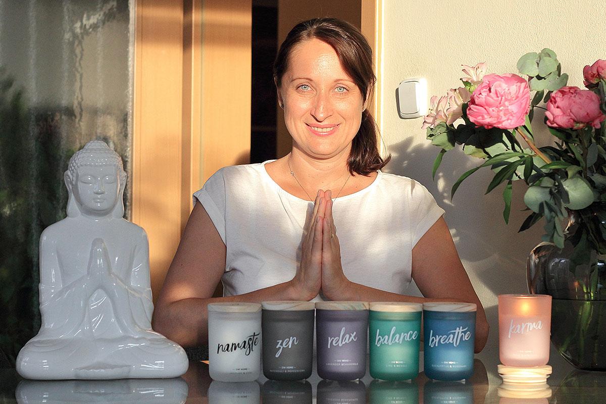 Recenze svíček DW Home s vůněmi pro meditaci, rozjímání a relaxaci