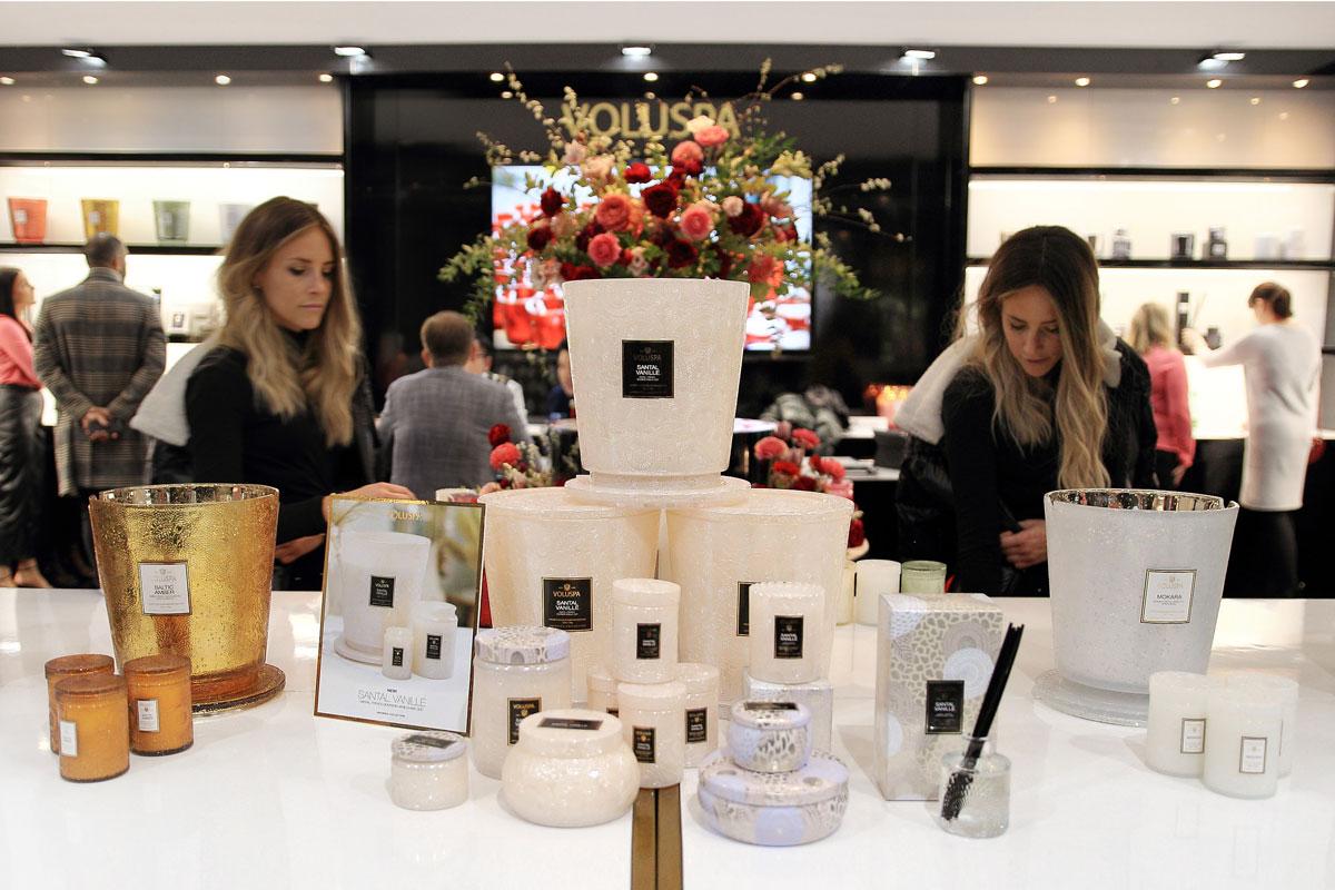 Svíčky a difuzéry Voluspa na veletrhu Maison&Objet v Paříži 2020