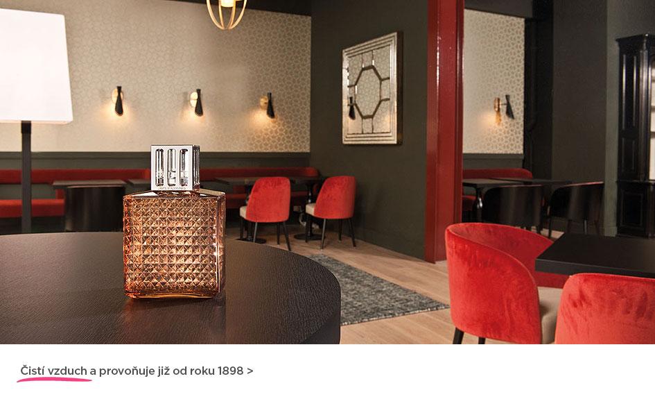 Čistí vzduch a provoňují již od roku 1898... katalytické lampy Maison Berger Paris