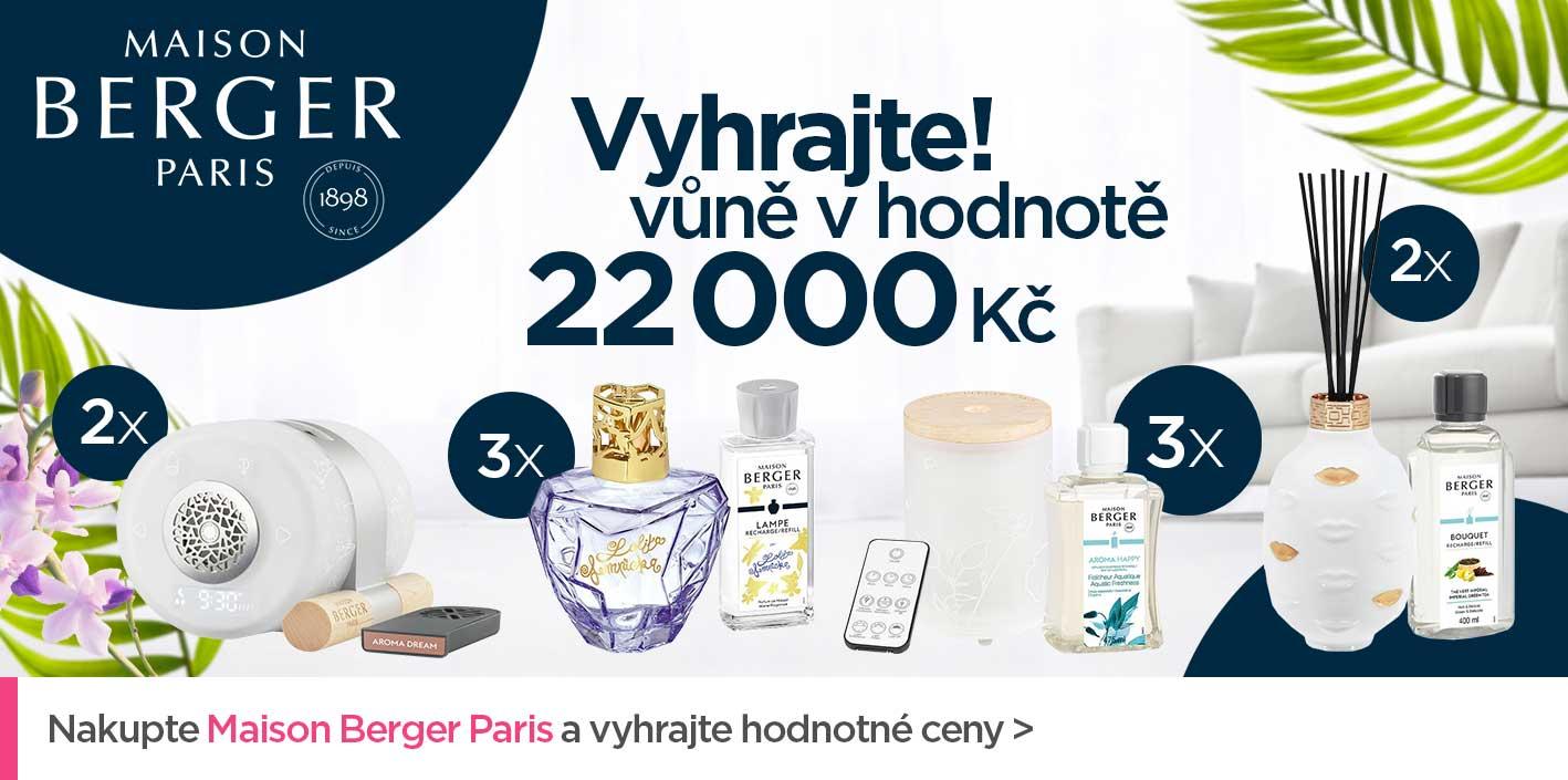 Soutěž o ceny v hodnotě 22000 Kč s Maison Berger Paris
