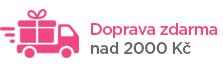 Doprava zdarma u objednávek nad 2000 Kč a 100 €