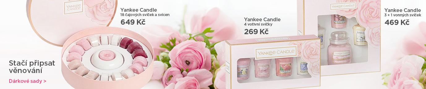 Jarní dárkové sady Yankee Candle