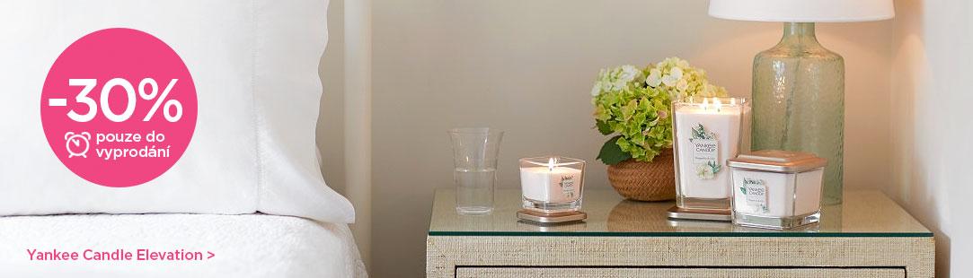 Yankee Candle výprodej kolekce svíček Elevation se slevou 30%