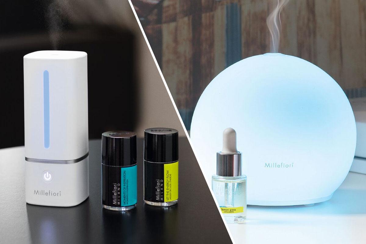 Recenze aroma difuzéru MOVEO od Millefiori. Je lepší než ultrazvukový difuzér?
