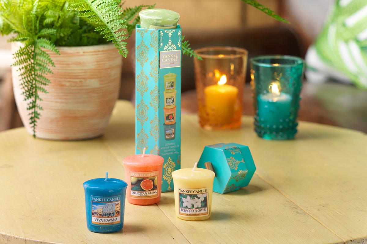 Votivní svíčky Yankee Candle v dárkové sadě