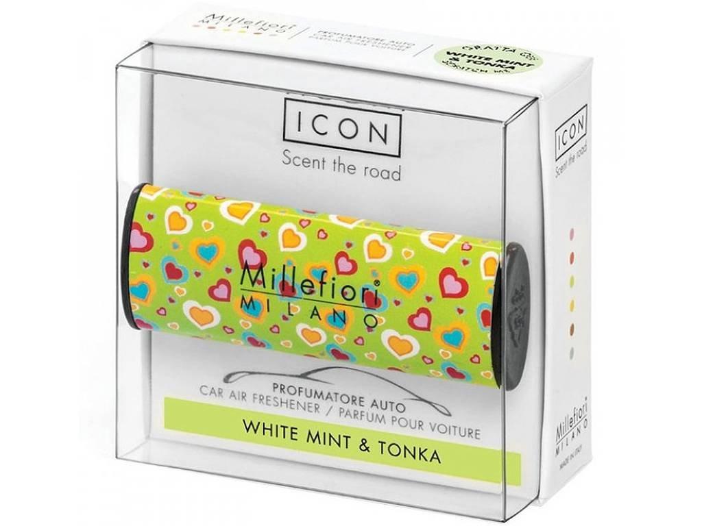 millefiori white mint tonka cuori fiori