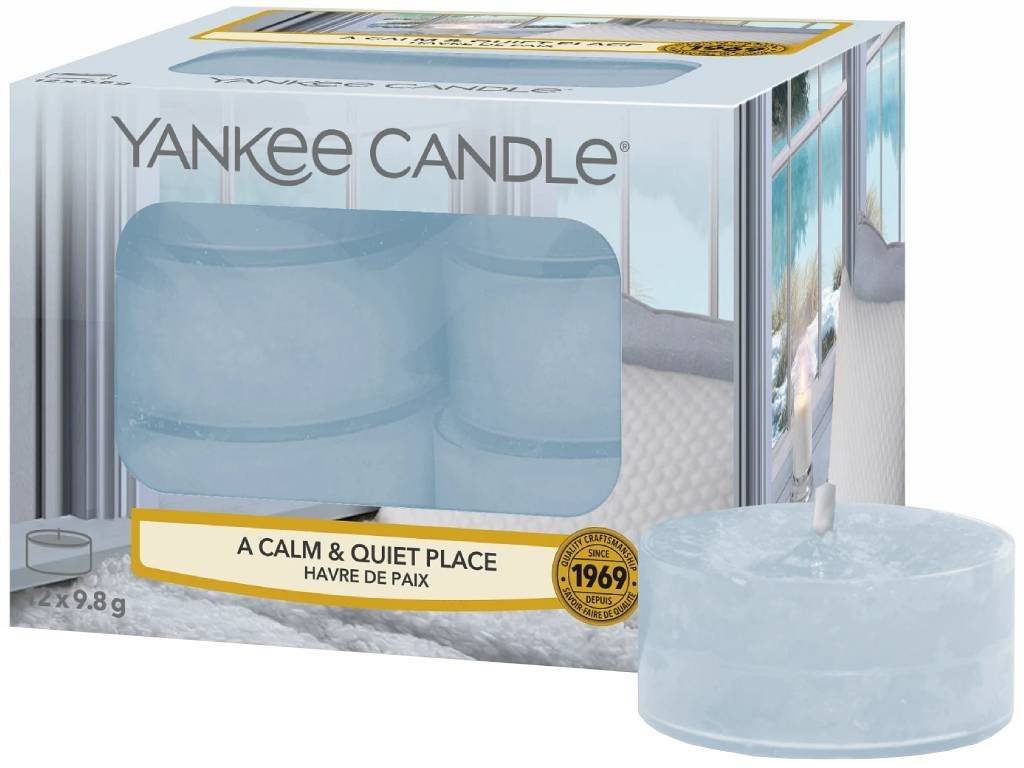 yankee candle a calm quit place cajovka