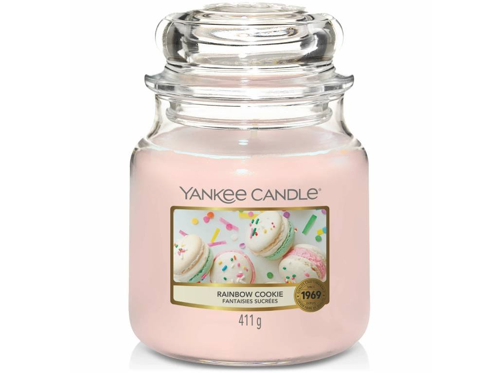 10085 yankee candle vonna svicka rainbow cookie stredni