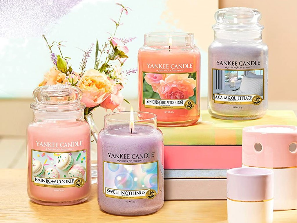 10103 yankee candle vonna svicka sun drenched apricot rose velka