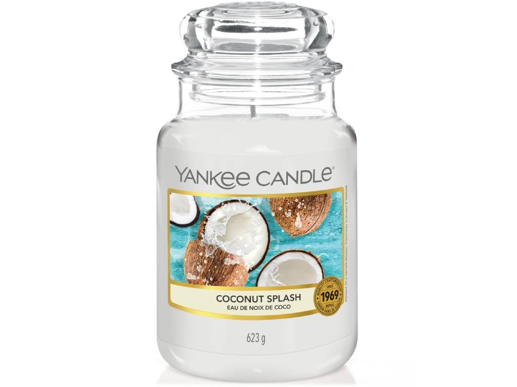 yankee candle coconut splash velka