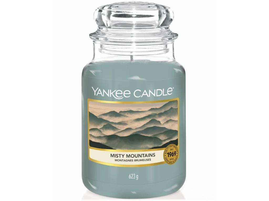 yankee candle misty mountains velka