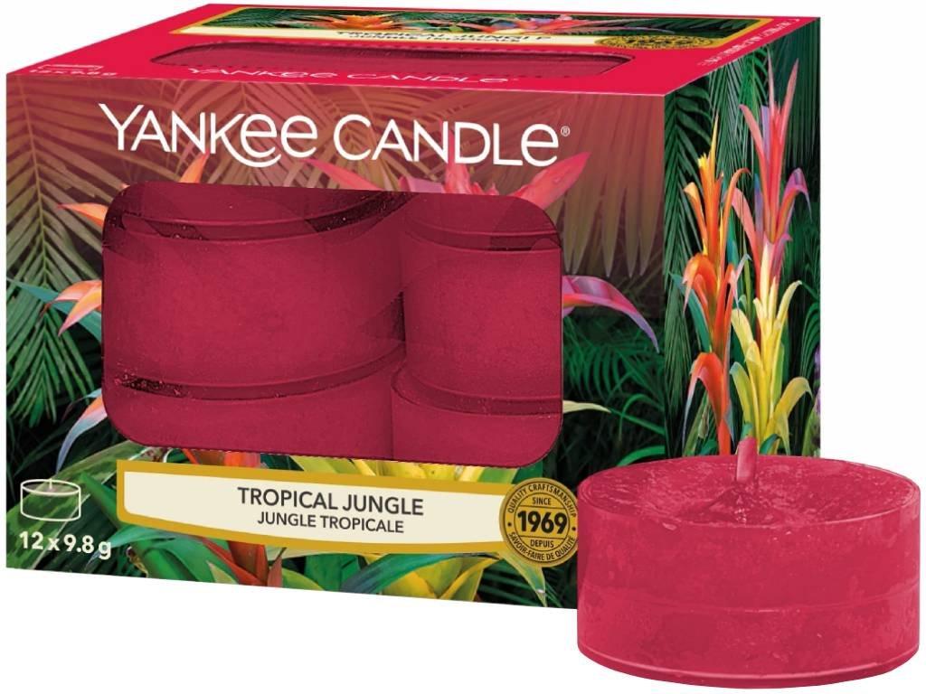 10340 yankee candle cajove svicky tropical jungle 12 ks