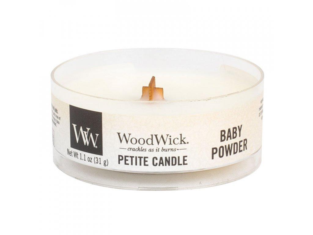 10436 woodwick petite candle vonna svicka detsky pudr