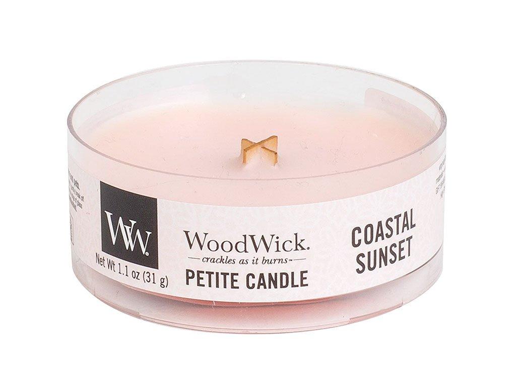 woodwick coastal sunset petite candle