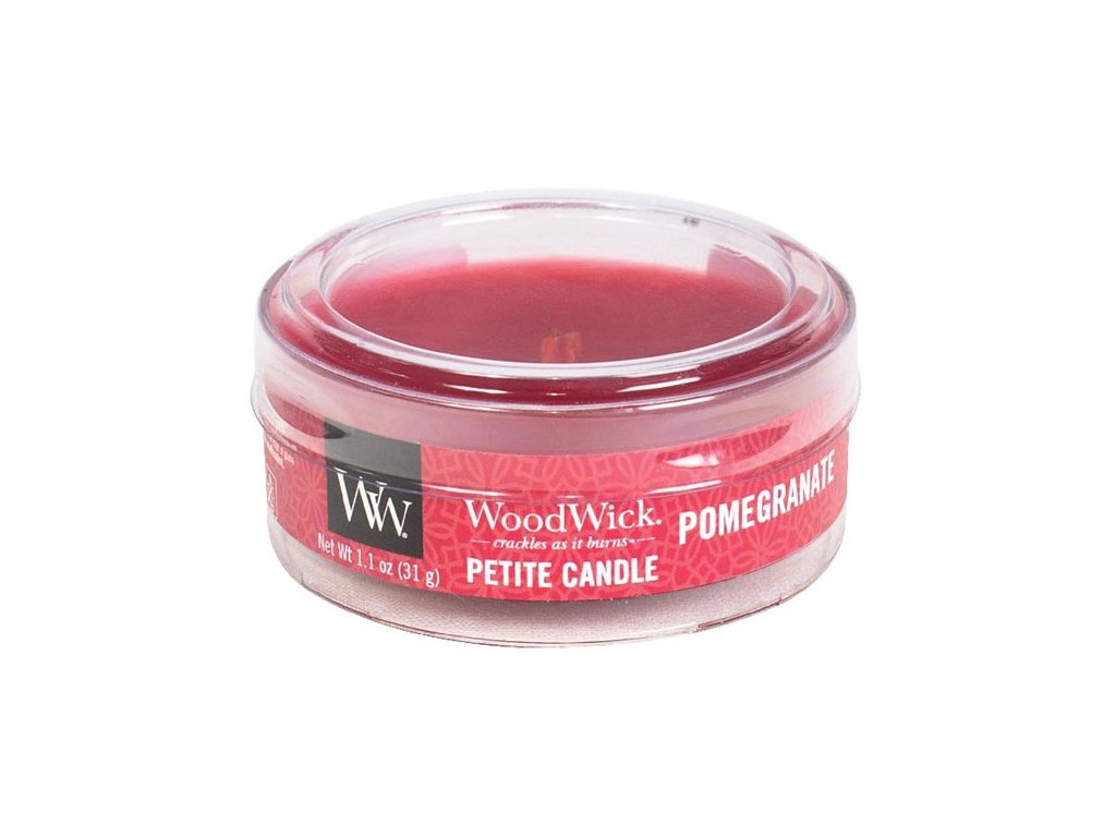 10634 woodwick petite candle vonna svicka granatove jablko