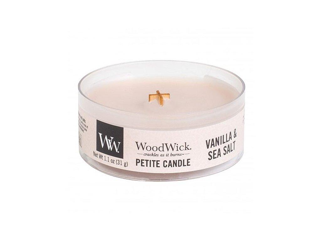 10664 woodwick petite candle vonna svicka vanilka a morska sul