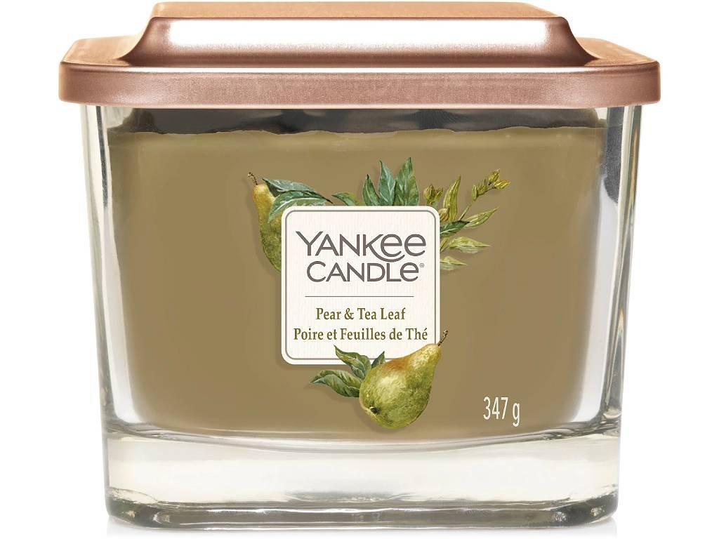 yankee candle pear tea leaf vicko stredni