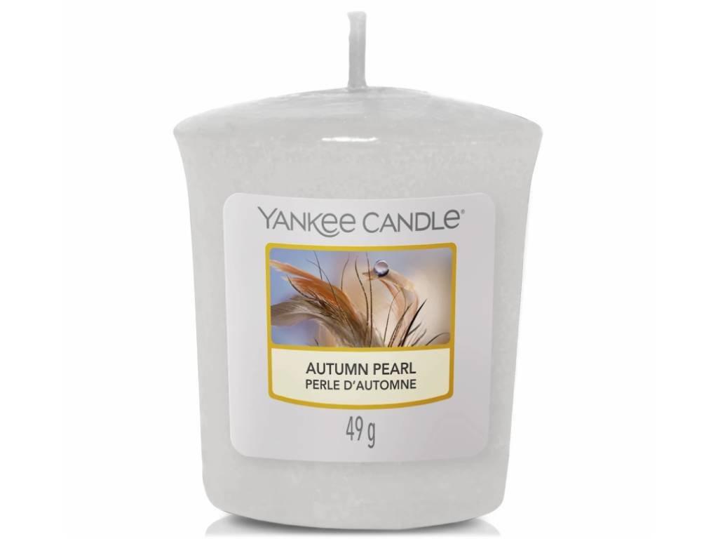 11114 yankee candle votivni svicka autumn pearl