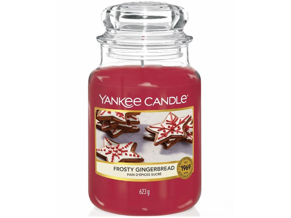 yankee candle frosty gingerbread velka