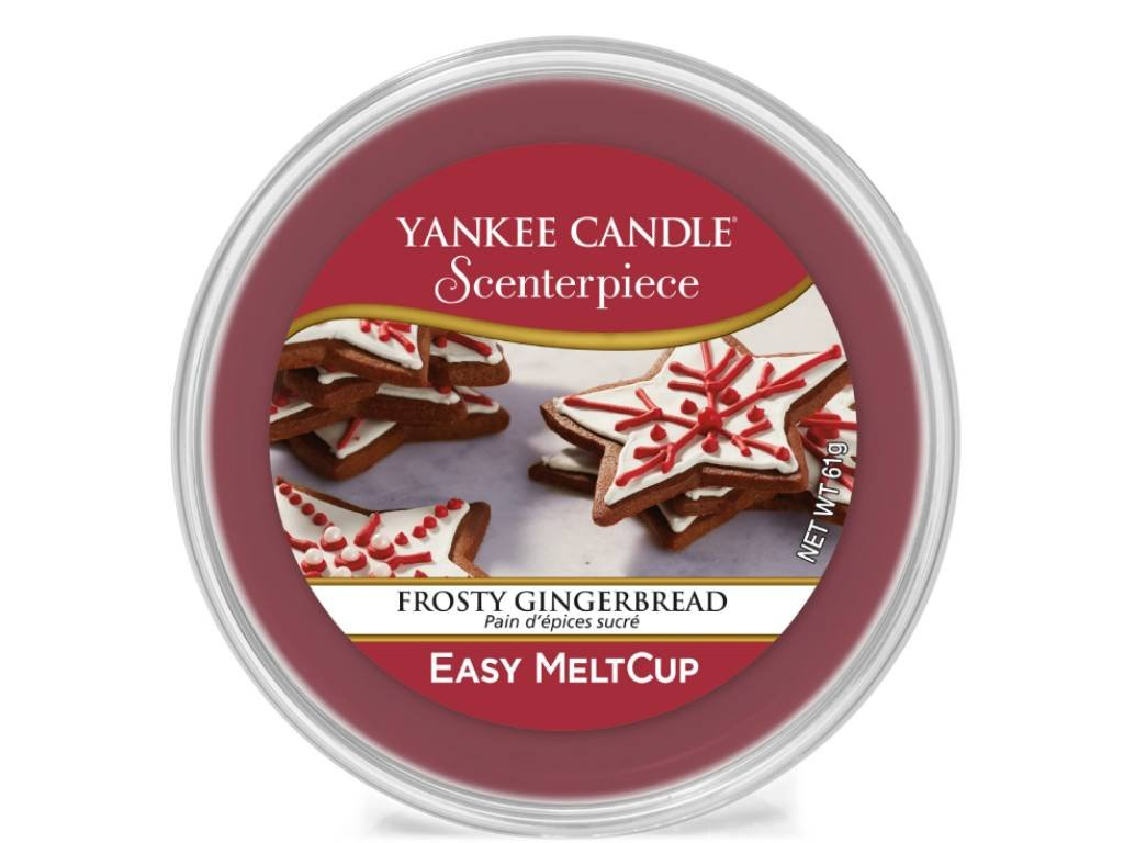 yankee candle frosty gingerbread meltcup