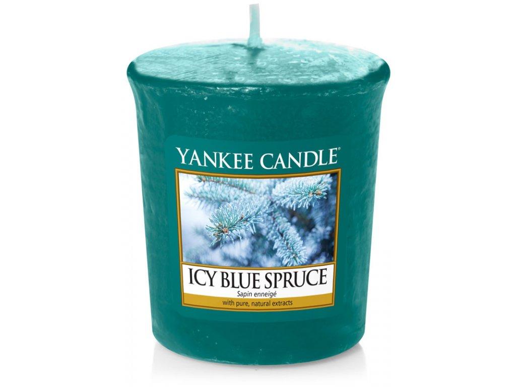 11204 yankee candle votivni svicka icy blue spruce