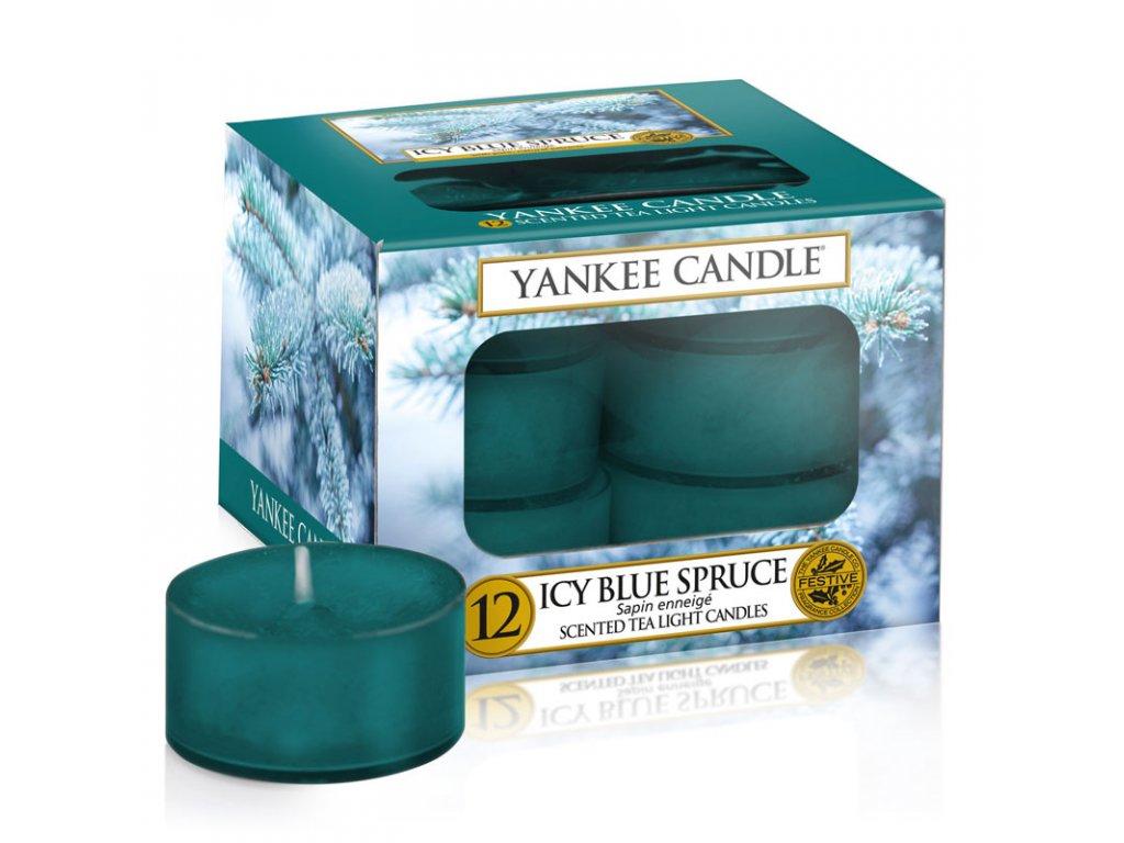 11210 yankee candle cajove svicky icy blue spruce 12 ks