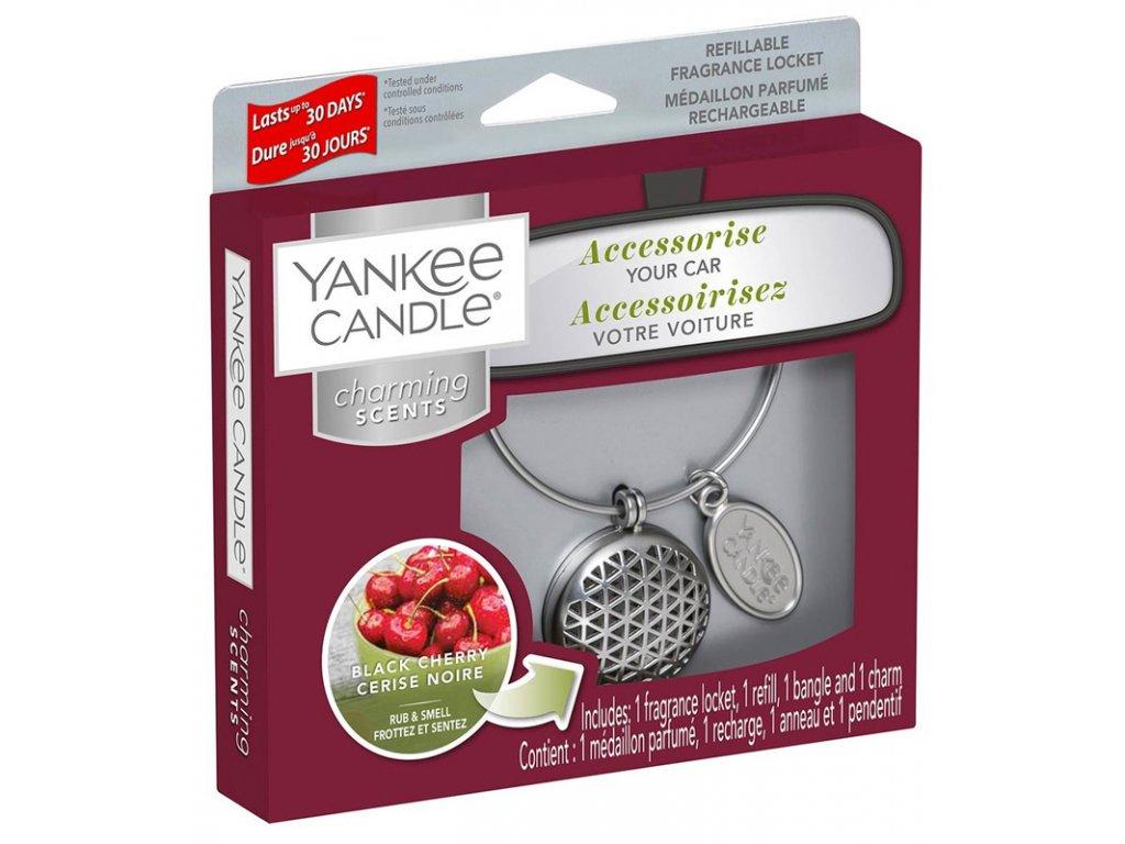 11432 yankee candle charming scents set geometric vune do auta black cherry