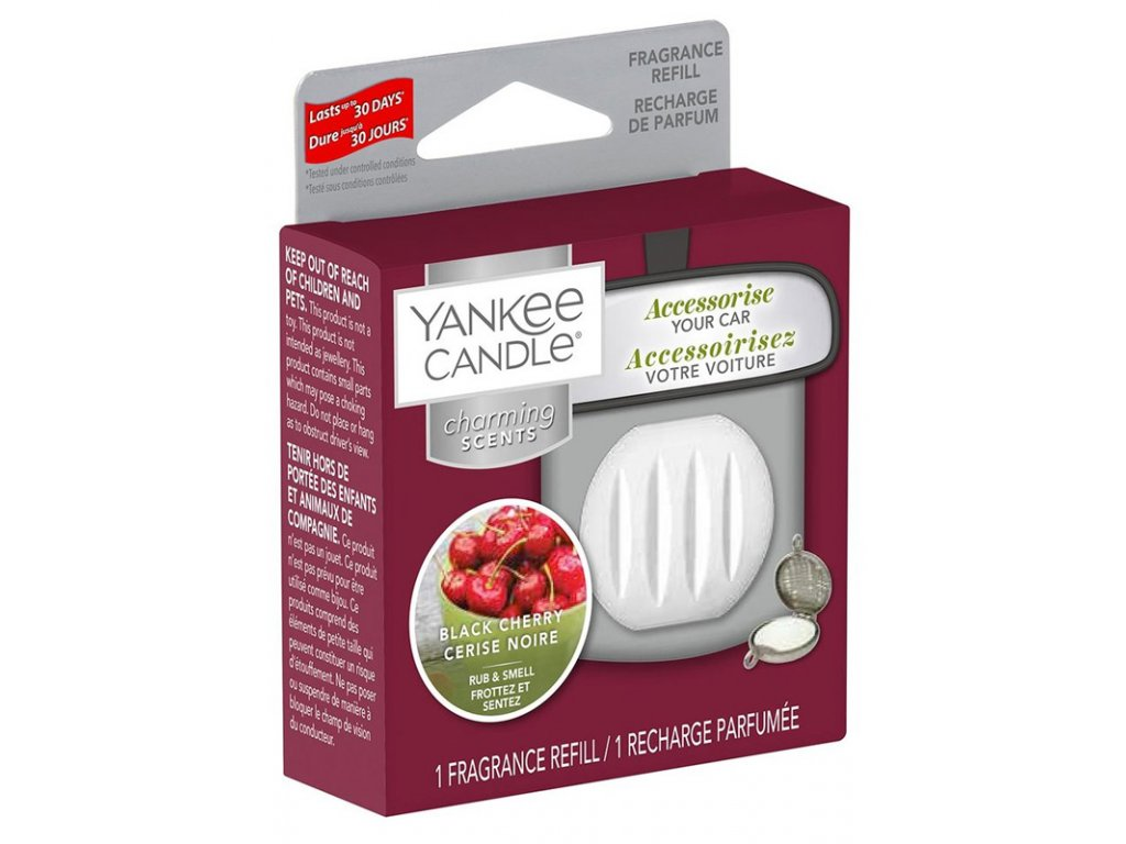 11450 yankee candle charming scents napln vune do auta black cherry