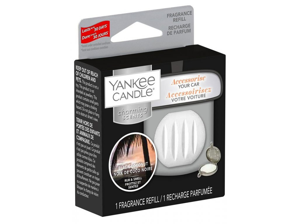 11462 yankee candle charming scents napln vune do auta black coconut