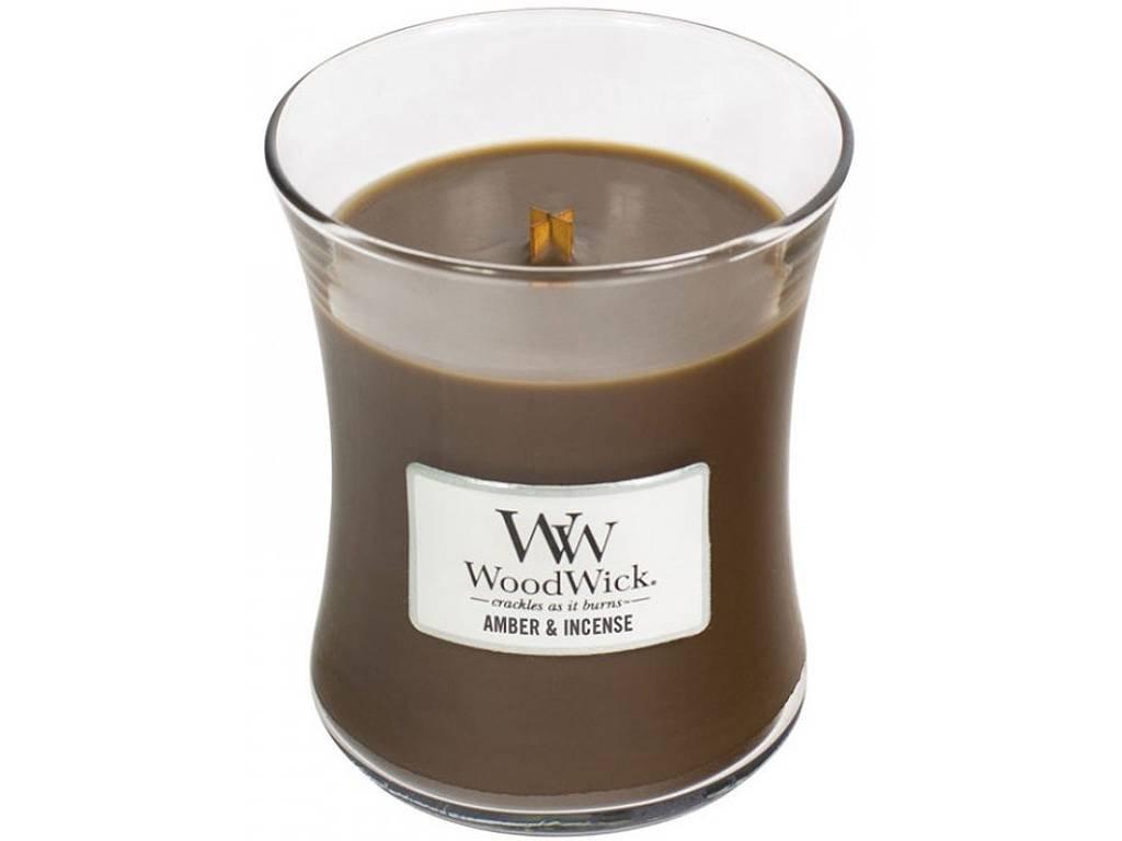 woodwick amber incense stredno