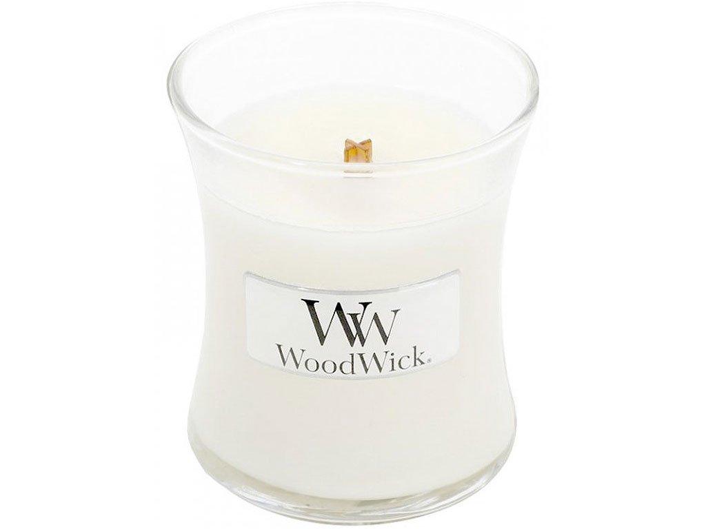 woodwick white teak mala