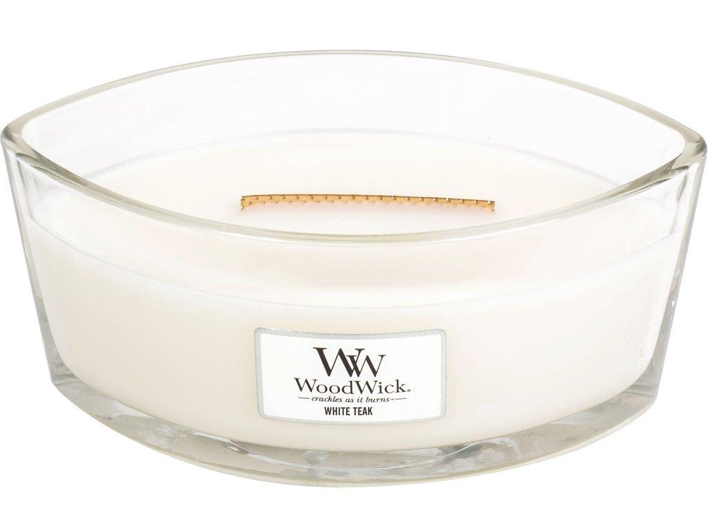 woodwick white teak lodicka