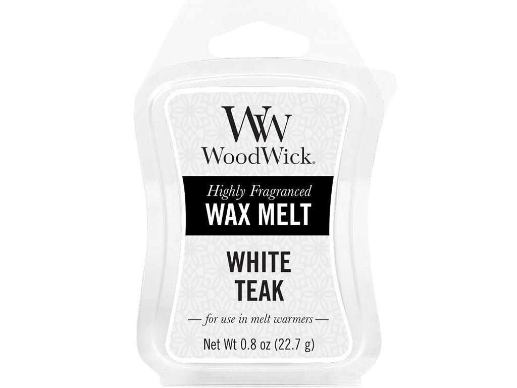 woodwick white teak vosk