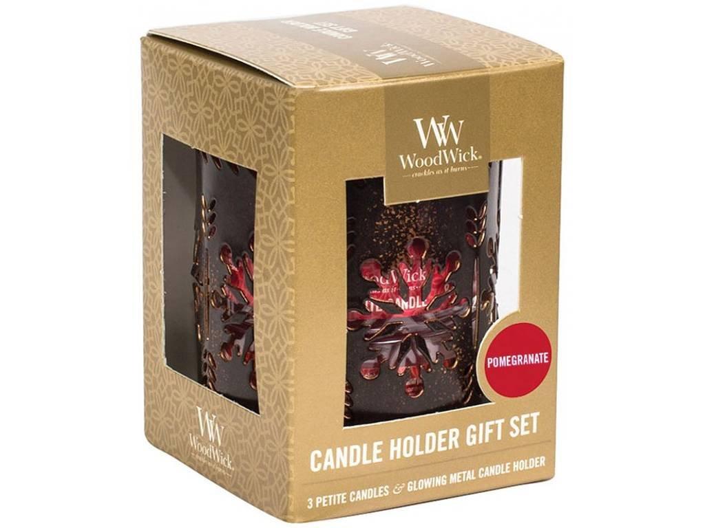 woodwick pomegranate set