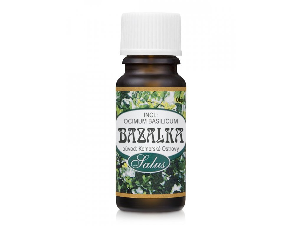 13784 saloos esencialni olej bazalka 10 ml