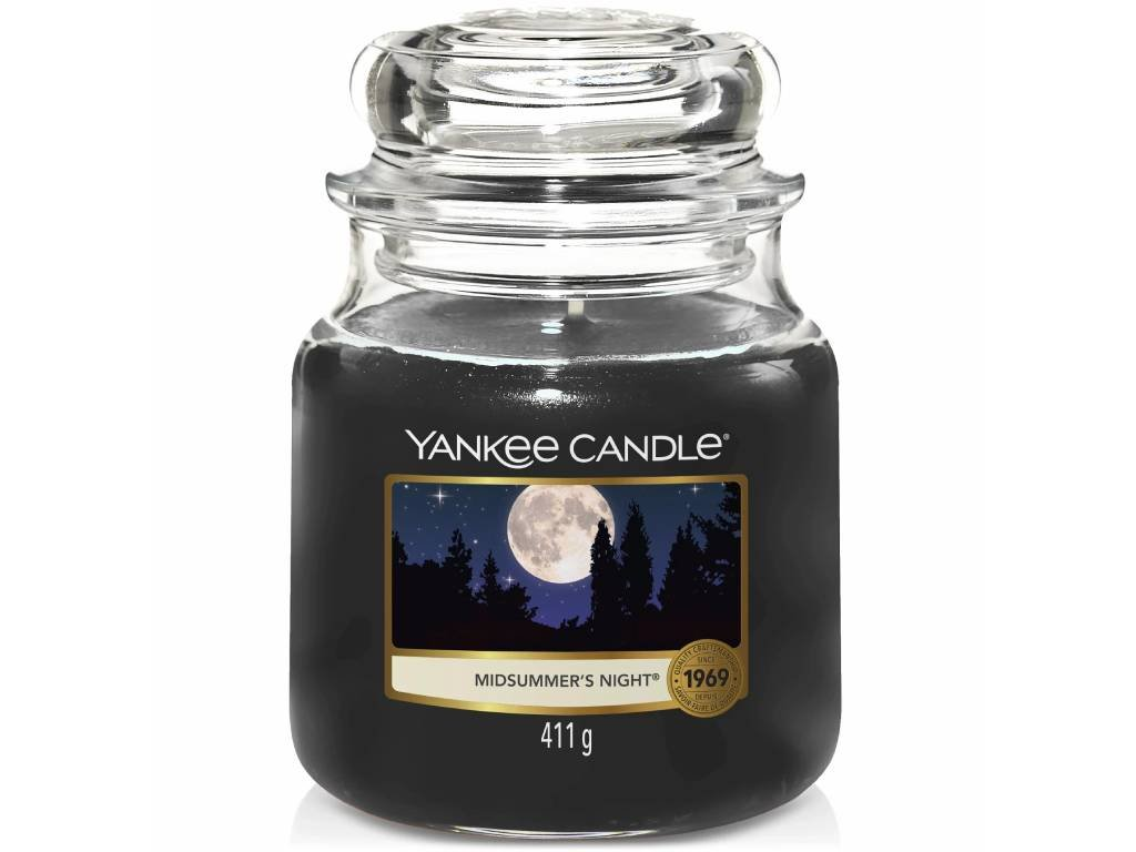 yabkee candle midsummers night stredni