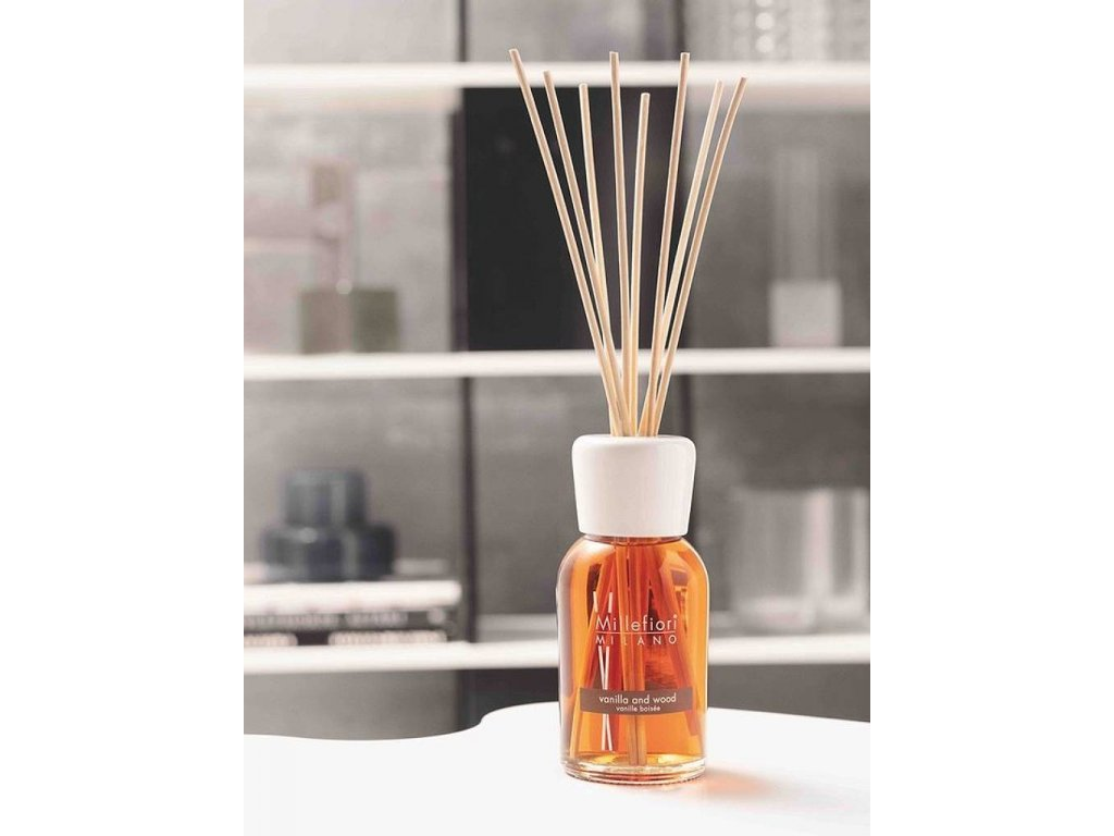14231 millefiori natural aroma difuzer vanilka a drevo 250 ml