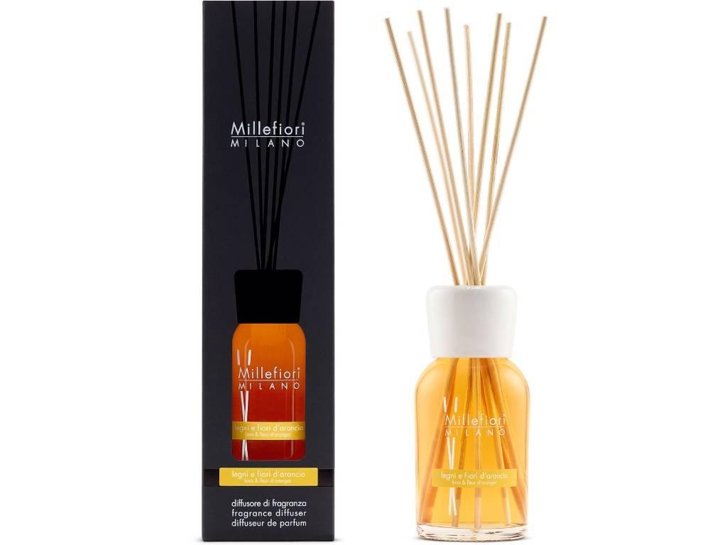 14234 millefiori natural aroma difuzer drevo a pomerancove kvety 250 ml