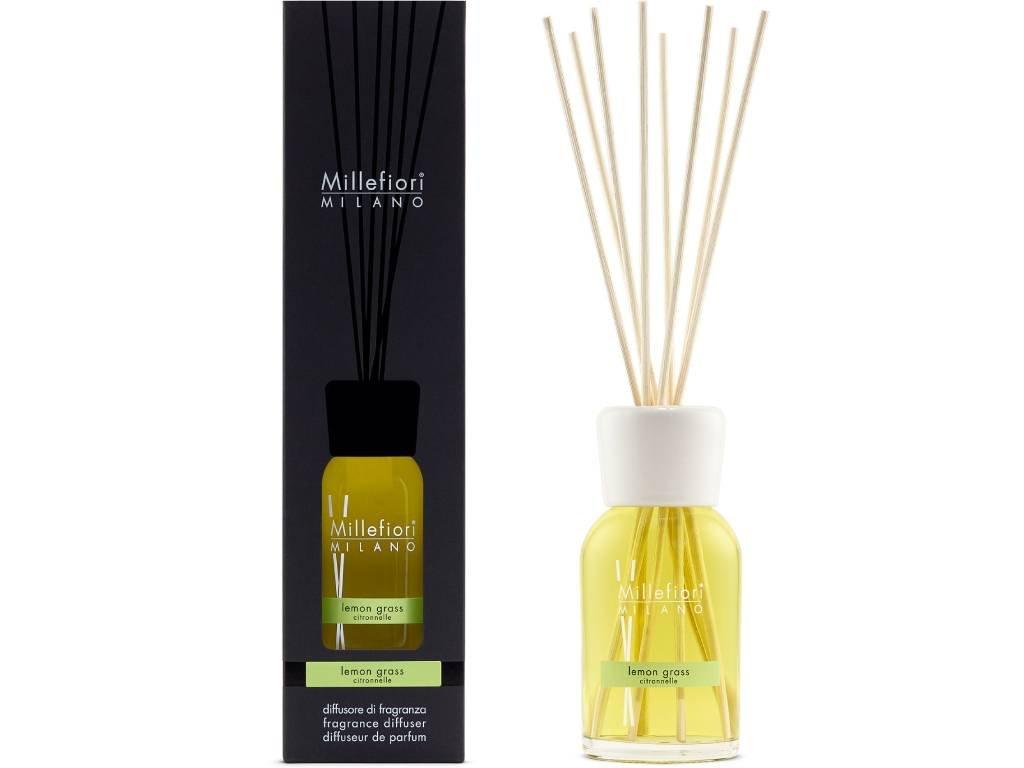 14246 millefiori natural aroma difuzer citronova trava 250 ml